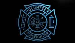 Motion fire online shopping - LS1858 r Firefighter Volunteer Fire Dept Neon Sign jpg