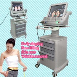 Wholesale 2017 HIFU machine for salon use hifu therapy machines weight loss wrinkle remover slimming face lifting machine