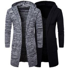 Knit Hooded Cardigan Sweater Men Online | Knit Hooded Cardigan ...