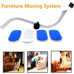 Reusable Furniture Movers Furniture Moving System Tool Moves Lifter Save  Effort 4 Slides Easy Move Sofa OOA2377