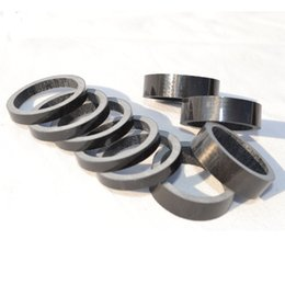 $enCountryForm.capitalKeyWord NZ - 10pcs lot Road bike UD carbon fibre headset washer Mountain bicycle headset carbon washer stem spacers MTB parts 5 10 15 20mm