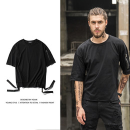 $enCountryForm.capitalKeyWord Australia - hot sale Short Sleeve men T shirts hip hop Original design Retro leisure fashion Sleeve zip kanye t shirts tops tees