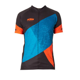 Ktm Pro Team Cycling Clothing Breathable MTB Bicycle Cycling Jersey Ropa  Ciclismo 100% Polyester Men Racing Bike short sleeves shirt B2704 8eb28813d