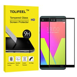 $enCountryForm.capitalKeyWord NZ - TOLIFEEL Black 2.5D Premium Full Coverage Tempered Glass Screen Protector For LG V20 Anti-shatter Protective Film 9H