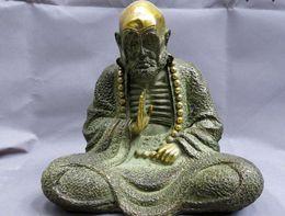 "$enCountryForm.capitalKeyWord Canada - 9"" China bronze gild buddhism copper carved sculpture beautiful buddha Statue"