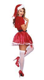 $enCountryForm.capitalKeyWord UK - New female sexy striped christmas dress for santa claus christmas 2017 fashion dress christmas season costume
