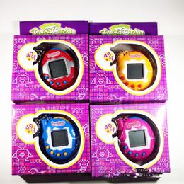 Vendita calda Tamagotchi Electronic Pets Toys 90S Nostalgic 49 Animali in un giocattolo Cyber Pet virtuale Divertente Tamagochi Con scatola al minuto in Offerta