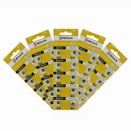 Assistir bateria 10 Pack / 100 Pcs 1.5 V Bateria AG4 SR626 377 LR626 LR66 SR66 Botão Bateria de Relógio Celular Para relógios em Promoção