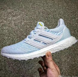 fast delivery cheap online High Quality Ultra Boost Parley Triple Running Shoes ultra boost Parley Black Blue Primeknit Oreo CNY Men Women Running Shoes Size5-10 outlet 1gnPE
