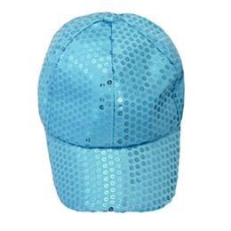 8a8f7a479d8 Wholesale- High Quality 2017 Fashion Autumn Summer Hot Outdoor Sequins  shine Baseball Cap Protect Eyes Beautiful girl cap Dropshiping