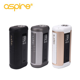 Aspire Tanks NZ - 100% authentic Aspire Speeder 200W TC Box Mod Hidden Fire Key Temperature Control Vape Mod Dual 18650 Fit Athos Tank
