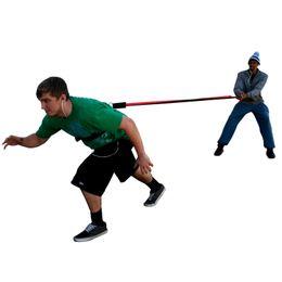 $enCountryForm.capitalKeyWord UK - 2.5M Lightning Cord Pull Rope Resistance Bungee Band Trainer Crossfit belt Power Speed Strength Training 50Lbs