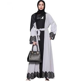 $enCountryForm.capitalKeyWord UK - Plus Size 5XL Muslim Maxi Long Dress for Women 2017 Long Sleeve Lace Patchwork National Constume Robes Cardigan AbayaKimono Dubai Clothing