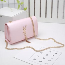online shopping Top Quality Shoulder Bags Fashion Brand Female Chain Tassel Solid Handbags PU Leather Flap Totes Crossbody Bags