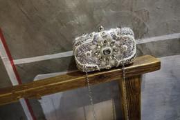 $enCountryForm.capitalKeyWord Canada - 2017 summer fashion women handbags Rhinestones message bags pearl clutch ladies single shoulder bags dress bags
