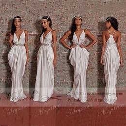 Discount Greek Column Wedding Dress 2017 Greek Column Wedding
