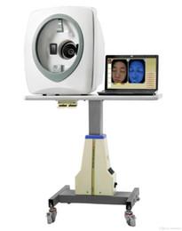 Système chaud de diagnostic de la peau 3D de vente avec l'analyseur de visage de rapport d'analyse de peau avec la vidéo d'enseignement en Solde