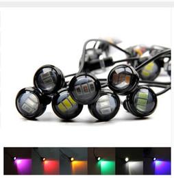 $enCountryForm.capitalKeyWord Canada - 23MM Waterproof LED Eagle Eye 3led LED Daytime running Lights Source DRL Car Parking Lamp for vw ford toyota audi hyundai