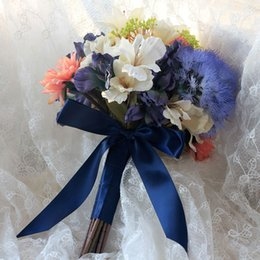 Wrist corsages artificial silk flower canada best selling wrist 2017 high quality wedding bouquets with corsage and wrist corsage artificial silk flowers for brides outside hybrid wedding bouquets mightylinksfo