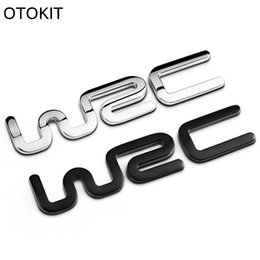 Chinese  Alloy WRC 3D Metal Auto Car Badge Emblem Sticker for Toyota Yaris Ford Fiat Citroen Audi SUZUKI Volkswagen VW Golf Cruze manufacturers