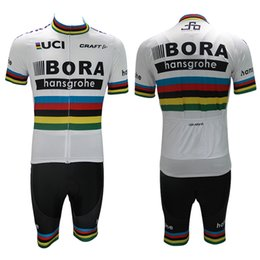 60a5b77d7 Discount world jersey cycling - 2017 UCI World tour team bora pro breathable  summer cycling jerseys