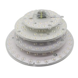 $enCountryForm.capitalKeyWord Australia - 12W 18W 24W 36W LED Module Ceiling Light SMD2835 110V 220V LED Panel Circle Light Lamp Round Ring LED Panel Board with Magnet