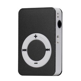 Discount sd card music player portable - Wholesale- 2016 New Arrival Portable Mini Mp3 Player Mini USB Digital Mp3 Music Player Support 8GB Micro SD TF Card lett