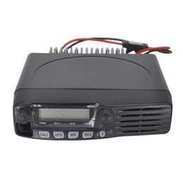 TM-281A Mobile Radio Vehicle Walkie Talkie Car Radio VHF Two Way Radio