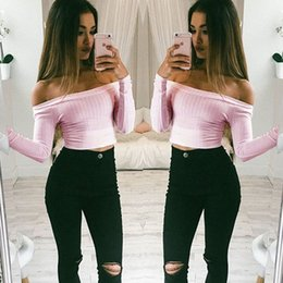 Tight Long Sleeve Shirts For Women Online | Tight Long Sleeve ...