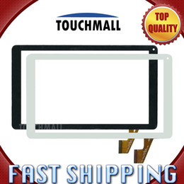 Discount dh inch tablet Wholesale- DH-1012A2-PG-FPC062-V5.0 Replacement Touch Screen Digitizer Glass Black White 10.1-inch for Tablet