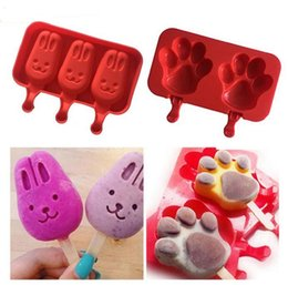 $enCountryForm.capitalKeyWord NZ - Silicone Cartoon Cute Ice Pop Molds Popsicle Molds Ice Trays Ice Cream Maker Frozen Holder Mould Kitchen Tools