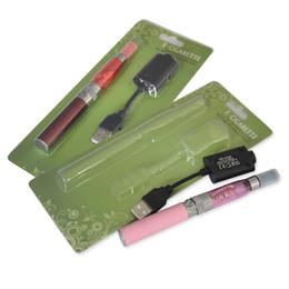 Hot Pink Ego T Australia - Hot CE4 Electronic Cigarette Blister kits CE4 ego starter kit 650mah EGO-T battery E-cigarette blister kit