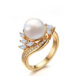 219a97c9be9 3mm Gold Ring UK - Simple style fashion women 3mm width Gold-plated copper  White