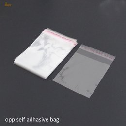 cellophane package Australia - 200pcs Clear Resealable BOPP Poly  Cellophane Bags 16x24 cm Transparent OPP gift bags Plastic packaging bags Self Adhesive Seal