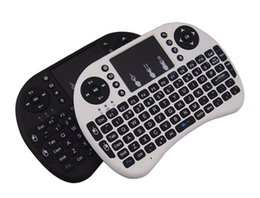 rii mini i8 2.4ghz wireless keyboard UK - Mini Wireless Keyboard Rii i8 2.4GHz Air Mouse Keyboard Remote Control Touchpad For Android Box TV 3D Game Tablet Pc