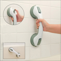 Two piece baThroom online shopping - Safer Strong Sucker Helping Handle Hand Grip Handrail for children old people Keeping Balance Bedroom Bathroom Accessories