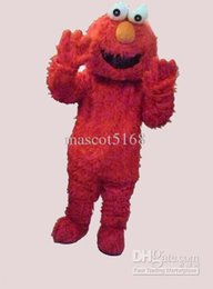 Wholesale Tailored lovely red plush mascot costume free shipping