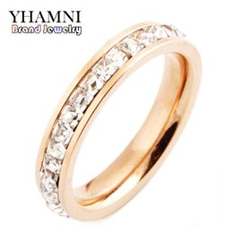 cocktail animals 2019 - YHAMNI Full Size Luxury Ring Original Gold CZ Diamond Full Paved Cocktail Rings for Womens Fashion Jewellery Crystals Pa