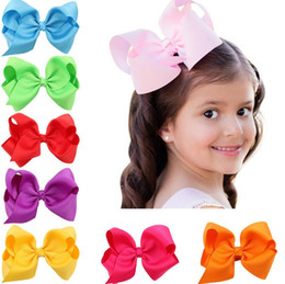 ordering african hair NZ - Best gift Bowknot children hairpin hot section baby hair ornaments headdress FJ089 mix order 60 pieces a lot