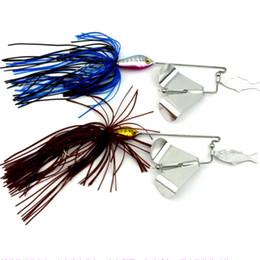 Серия воды рыболовные приманки 16 г юбка ивовый лист Spinnerbaits борода парень Рыбалка приманки или жесткий металл Приманки и отсадки головы крючки