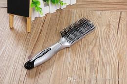 $enCountryForm.capitalKeyWord NZ - Abody Salon Hair Brush Hair Scalp Massage Comb Professional Detangle Paddle Hairbrush Hairdressing Styling Tools Arched Design hair comb