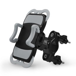Motorcycle phone holder cradle online shopping - Universal Bicycle Motorcycle Handlebar Phone Mount Holder Cradle for iphone Plus Plus for Galaxy S8
