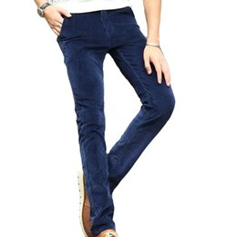 820fc92696a Discount bootcut corduroy pants - Wholesale- New Hot Sell Winter Autumn Man  Casual Pants Solid