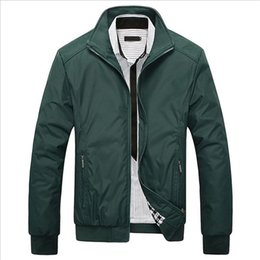 $enCountryForm.capitalKeyWord Canada - Wholesale- Plus Size 5XL Jacket Coat 2016 Hot Sale Spring Autumn Men's Solid Fashion Jacket Male Casual Slim Fit Mandarin Collar Jacket