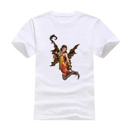 $enCountryForm.capitalKeyWord NZ - Winged elves 2017 New Clothes Fashion Man Casual T-Shirt Cotton O Neck Short Sleeve Loose Personalized unique Male Tops Tees Wholesale