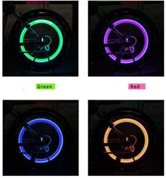$enCountryForm.capitalKeyWord Australia - LED Flash Tyre wheel light Bike Valve Cap Light Car Bicycle Motorbicycle Wheel Tire lamp LED Lighting Blue Green Red Yellow Lights Colorful