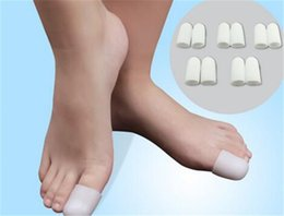 Bunion massager online shopping - Silica Gel Foot Corn Blisters Remover Toe Tube Relief Foot Bunion Pain Toe Finger Protector Caps Soft Cushion Calluse