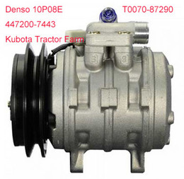 online shopping High quality auto P08E A C Compressor for Kubota Tractor Farm PN T0070
