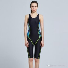 4e6d45d97de90 Women Sport Swimsuits Competitive Swimming Suits Girls Racing Swimwear One  Piece Swim Suit Competition Swimsuit Knee Length 6002