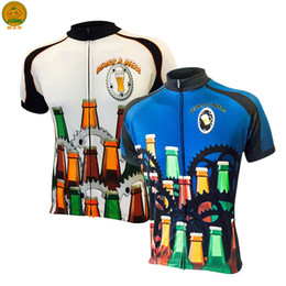 Customized NEW Hot 2017 Man Gears Beers mtb road RACE Team Bike Pro Cycling Jersey   Shirts & Tops Clothing Breathing Air JIASHUO